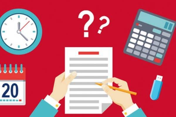 Comment remplir le formulaire spécial 2044 ?